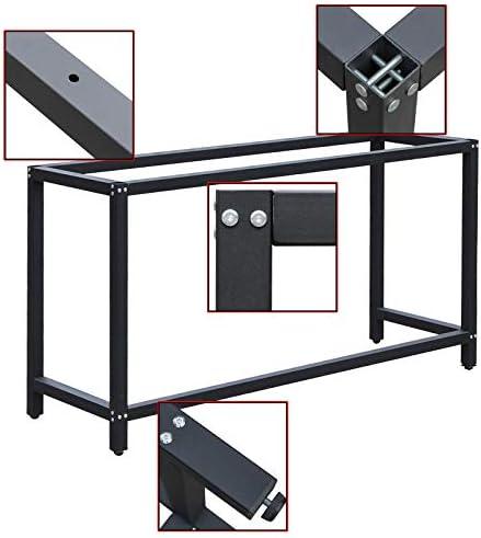 Soporte banco trabajo 50x100x80cm armazón bastidor caballete mesa ...