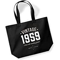 60th Birthday, 1959 Keepsake, Funny Gift, Gifts For Women, Novelty Gift, Ladies Gifts, Female Birthday Gift, Looking Good Gift, Ladies, Shopping Bag, Present, Tote Bag, Gift Idea