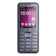 BLU Diva II T275T Unlocked GSM Dual-SIM Cell Phone with Camera-Retail Packaging-Grey (Discontinued by Manufacturer)