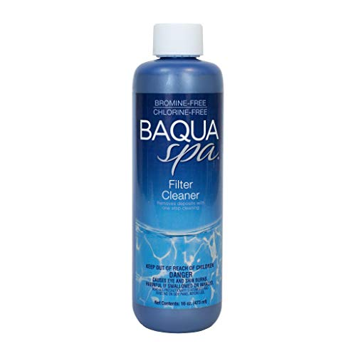 (Baqua Spa 40803 Filter Cleaner Spa Maintenance, Clear)