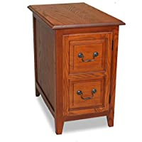 Medium Oak Shaker Cabinet End Table