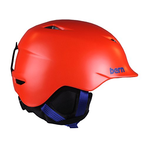 Bern Boys Camino Helmet, Satin Orange, Small / Medium For Sale