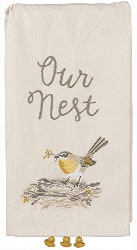 (Primitives by Kathy Embroidered Dish Towel, Our Our Nest)