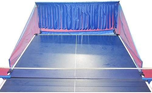 JGRH Table Tenis Net Mesa Pelotas de Penismo Catch Net Butterfly Robot Pin Pong Máquina Entrenamiento Ping Pong Balls Recolectando Mesh Trainer Accesorios