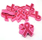 12 Pink Ribbon Breast Cancer Awareness Automobile Antenna Toppers/Balls/New In Package