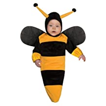 Rubies Costume Deluxe Baby Bunting, Bumble Bee Costume, 1 to 9 Months