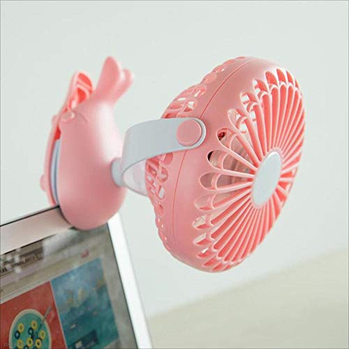 For The Fans Co. CJC Electric Cooling Cycling Fan Portable Battery Operated Clip Stroller Baby Silent Mini
