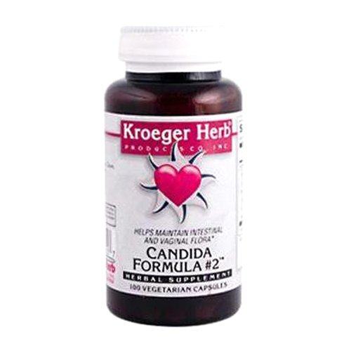 Kroeger Herb Candida Formula Number 2 Capsules, 100 Count