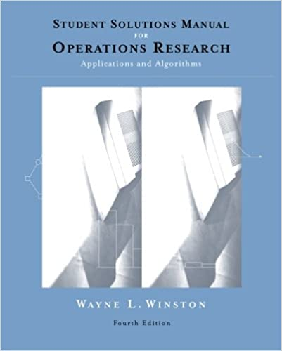 Amazon student solutions manual for winstons operations student solutions manual for winstons operations research applications and algorithms 4th 4th edition fandeluxe Image collections