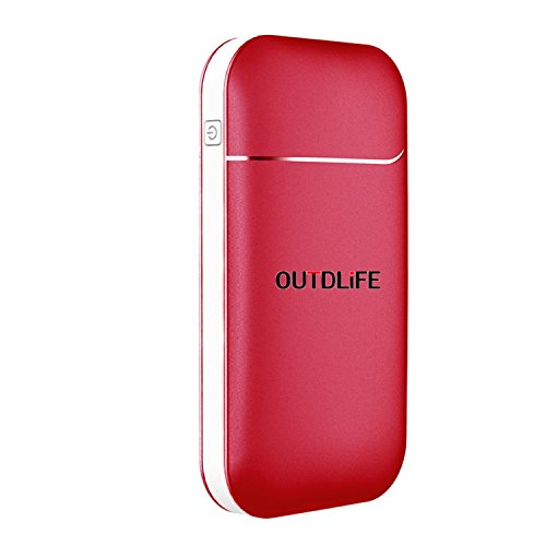 OUTDLIFE Rechargeable Hand Warmer 5200mAh/7800mAh Power Bank, Portable USB Electric Hand Warmers Double-Sided Heating Mobile External Battery Charger Best Gift in Winter for Women,Man