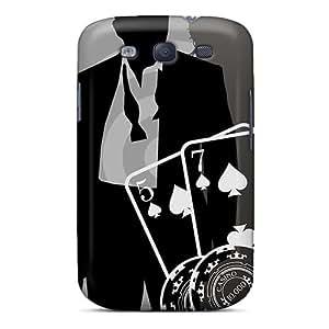 KimberleyBoyes Samsung Galaxy S3 Durable Hard Phone Cases Custom Beautiful James Bond Pattern [uCZ10340pXCu]