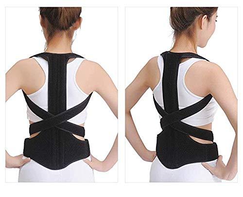 JCM Child Adult Kyphosis Correction Band Spine Correction Spine Back ZJ (Size : L)