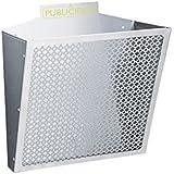 Arregui e-2310 - Cesta publicidad clasico plata rejilla plata