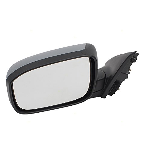 Drivers Power Side View Mirror Heated w/Gray Cover Replacement for 03-07 Honda Accord Sedan 76250SDAA23ZA AutoAndArt
