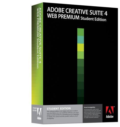 Adobe Creative Suite 4 Web Premium Student Edition [OLD VERSION]