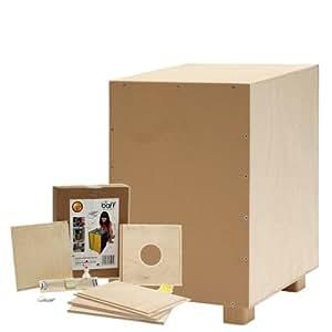 baff Musikmöbel - Conjunto de construcción de cajón flamenco para niño (30 cm)