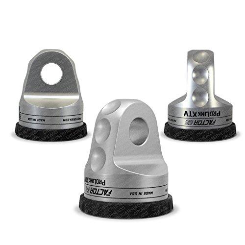 - Silver 4332987665 Loaded Shackle Mount With Titanium Pin /& Rubber Guard 6,000 Lbs Factor55 ProLink XTV ATV//UTV