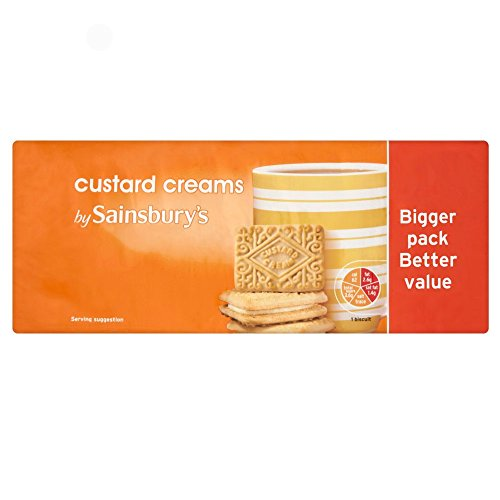 - Sainsbury's Custard Cream Busicuits 132g