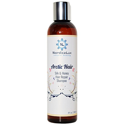 Arctic Hair - Silk And Honey Hair Repair Shampoo 8 Ounce| Repairs Damaged & Stressed Hair | Repairs Split Ends, Re-hydrates Honeyquat, Silk Amino Acids, Iceland Kelp & Iceland Herbs, Natural Formula (Natrual Conditioner compare prices)