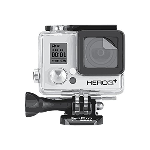 GOcase H4-Shield Lens Protector for GoPro HERO3+ and HERO4+ by GOcase