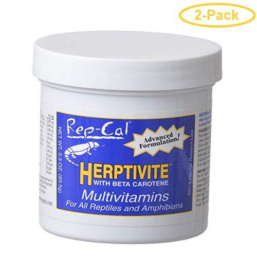 Rep Splmt Herptivite 3.3oz (Pack of 2) by Rep-Cal