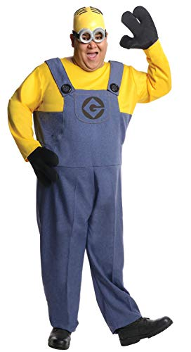 Rubie's Plus-Size Despicable Me 2 Dave Minion, Multicolor, Plus Costume]()