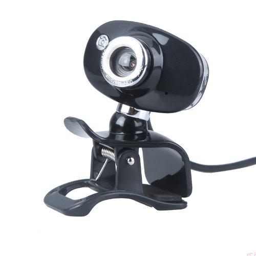 USB 2.0 50.0M PC Camera HD Webcam for Laptop Desktop Black - 4