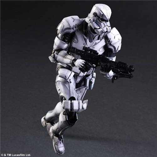 VIET STAR 27Cm Stormtrooper Storm White Soldiers Collectible