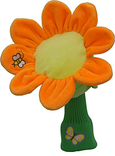 Daphne's Sunflower Hybrid Headcovers (Hybrid Putter Headcovers)