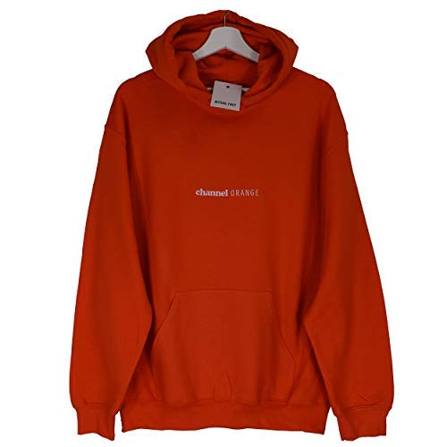 Simple Capuche Frank Haut Actual Hop Orange Sweatshirt Fact Channel A Sweat Future Rap Hip Ocean Brodé Odd TPPfW6qA