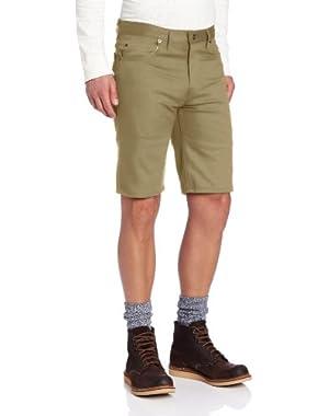 Men's 11 Inch Slim Fit 5-Pocket Twill Work Short