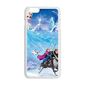 Frozen Princess Elsa Anna Kristoff Olaf Sven Cell Phone Case for Iphone 6 Plus