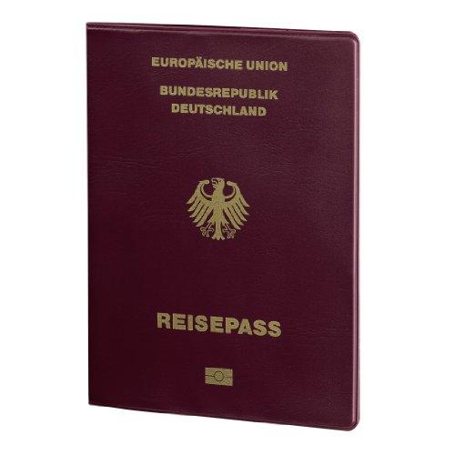 Hama 00105392 Passport Data Protection Cover Hamburg Claret