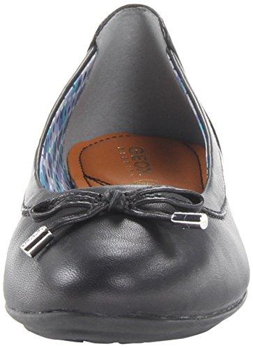 A Geox Schwarz D blackc9999 Ballerines Charlene Femme qxEfxaOwC