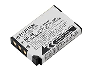 Fujifilm NP-48 Lithium Ion Rechargeable Batteries (White)