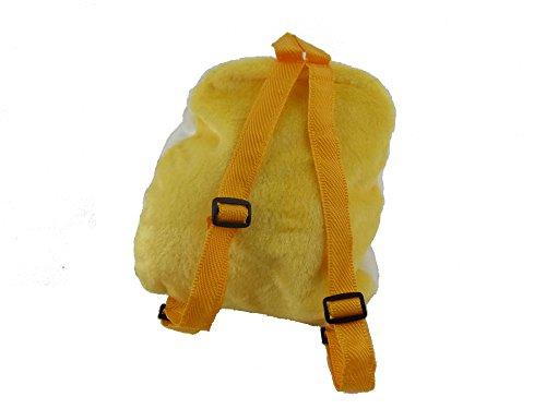 Niños infantil mochila animal lindo - Diseño amarillo pollo y Chick