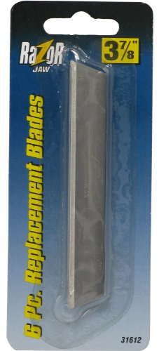 Allied Tools 31612 Razor Jaw TM Replacement Blades, 3 7/8-Inch, 6-Piece