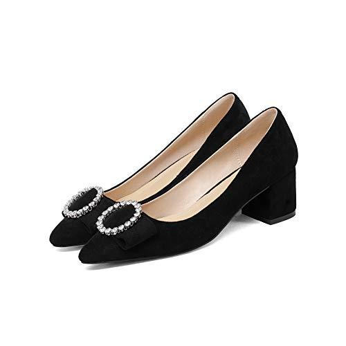 DGU00790 5 Compensées Femme Noir Sandales AN Noir 36 70xtdEq