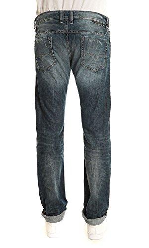 Diesel SAFADO Pantalon Jeans Homme Regular Slim Straight Bleu DIESEL