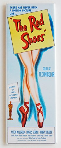 The Red Shoes Movie Poster Fridge Magnet