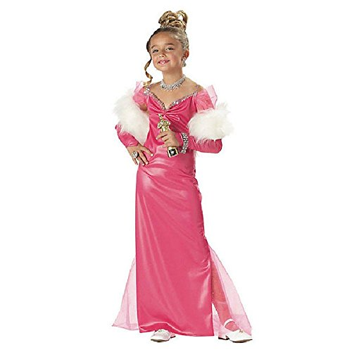 Hollywood Party Fancy Dress Costumes (California Costumes Toys Hollywood Starlet, Large)