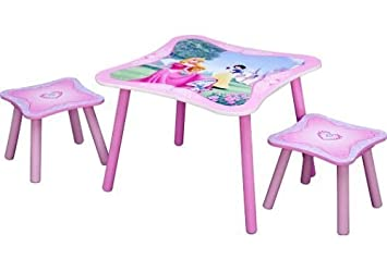 Amazon.com: Disney Princess Table & Stool Set by Delta: Baby