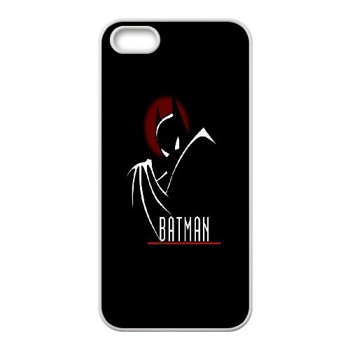 Batman Phone Case And One Free Tempered-Glass Screen Protector For iPhone 5,5S T178124