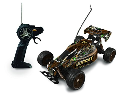 Toy Dune Buggies - NKOK 1:16 Scale Realtree RC Bobcat Remote Control Toy