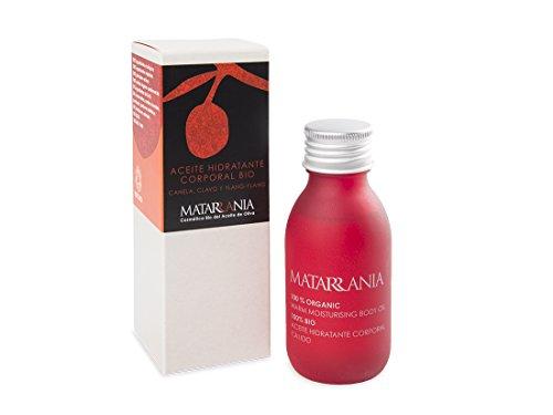 Matarrania – Aceite hidratante Corporal Canela, clavo y ylan-ylang Bio Matarrania, 100ml