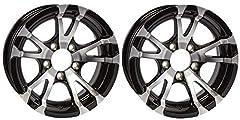 "2-Pack Trailer Rims 14X5.5 Aluminum Black T07 Spoke 5 Lug On 4.5"" 3.19""CB 2200#. Rim Size: 14"" X 5.5"". Bolt Configuration: 5 Lug 4.5"" Center. Offset: 0"". Center Bore: 3.19"". Rim Construction: Aluminum. Rim Style: T07 Spoke. Rim Color: Black. ..."