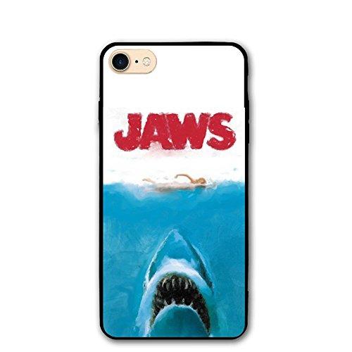 Jaws Shark Original iPhone 8 Plus Case, iPhone 7 Plus Case, Glitter Liquid Bling Protective Girls Case Floating Bling Sparkle Luxury Women Case TPU+PC for iPhone 7 Plus/8 Plus