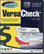 G7 PRODUCTIVITY VersaCheck Platinum 2007 ( Windows )