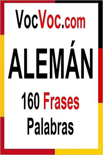 Vocvoccom Alemán 160 Frases Palabras Spanish Edition