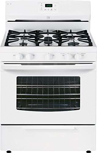 Kenmore 73432 4.2 cu. ft. Standard Clean Gas Range in White, includes delivery and hookup (Freestanding Ranges Standard Clean Electric)